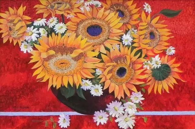 色彩绚丽的风光画作——Gene Brown插图49