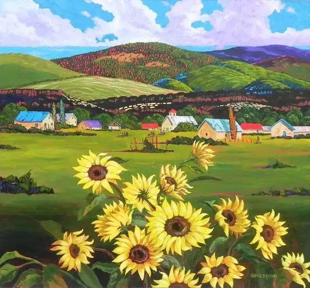 色彩绚丽的风光画作——Gene Brown插图61