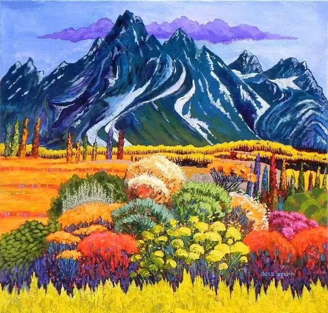 色彩绚丽的风光画作——Gene Brown插图63