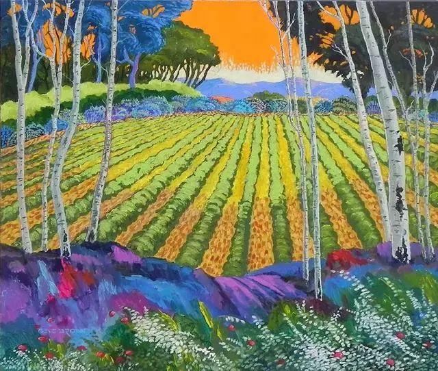 色彩绚丽的风光画作——Gene Brown插图65