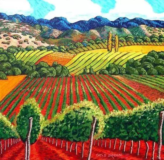 色彩绚丽的风光画作——Gene Brown插图71