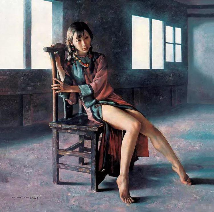 别有韵味的民国服饰女子——吕建军插图1