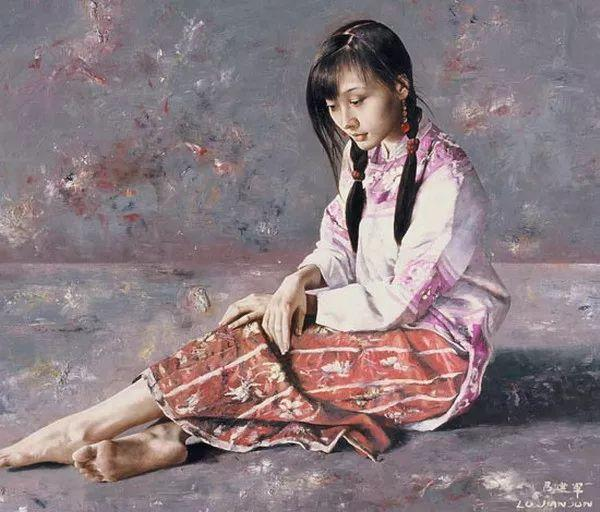 别有韵味的民国服饰女子——吕建军插图45