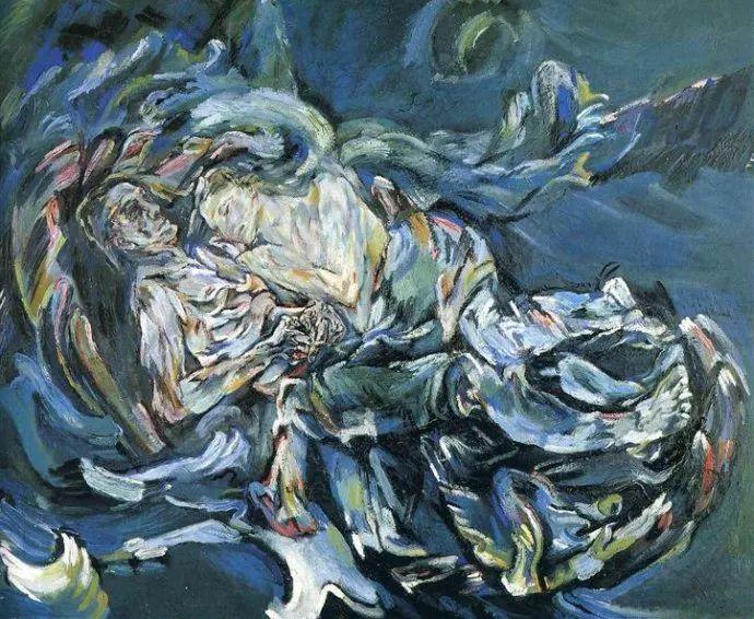 他以其强烈的表现主义肖像画和风景画而闻名插图1
