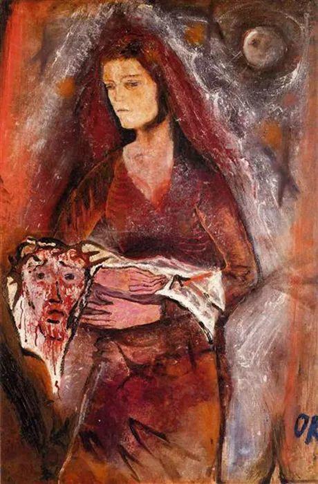 他以其强烈的表现主义肖像画和风景画而闻名插图3