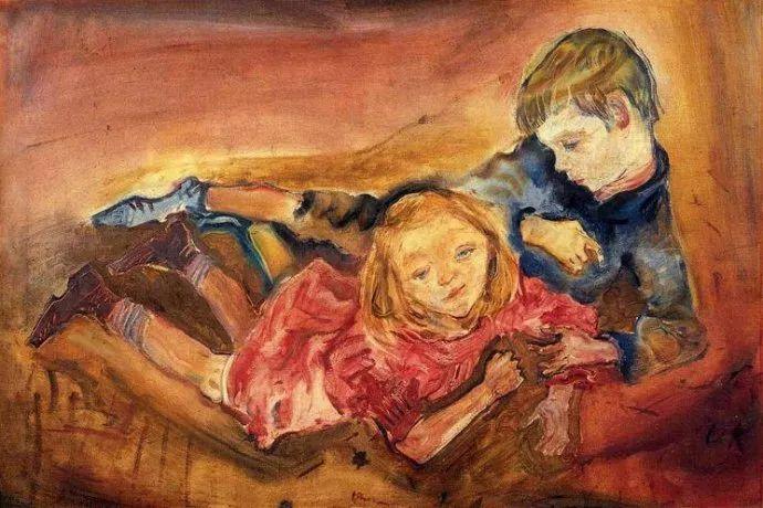 他以其强烈的表现主义肖像画和风景画而闻名插图5