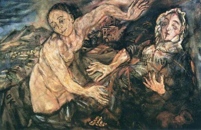 他以其强烈的表现主义肖像画和风景画而闻名插图7