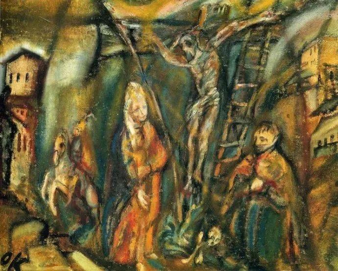 他以其强烈的表现主义肖像画和风景画而闻名插图9