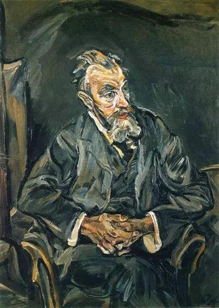 他以其强烈的表现主义肖像画和风景画而闻名插图15