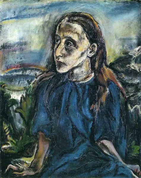 他以其强烈的表现主义肖像画和风景画而闻名插图17