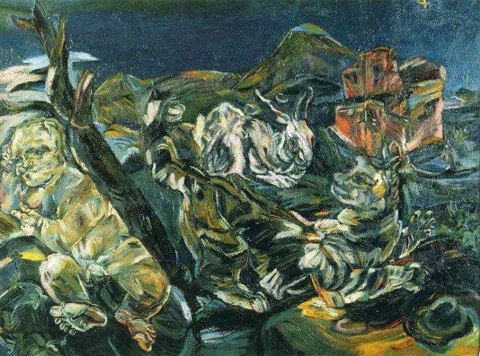 他以其强烈的表现主义肖像画和风景画而闻名插图19