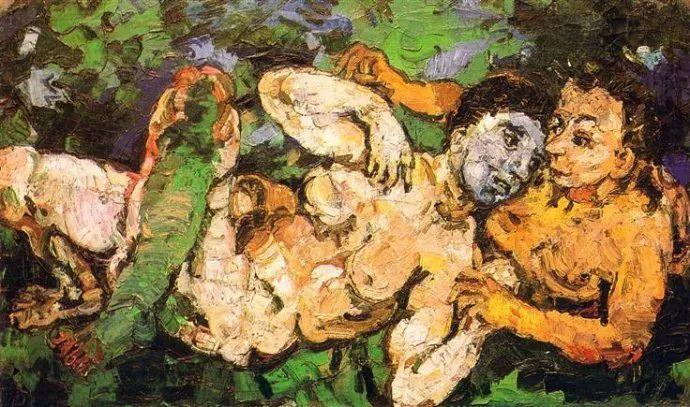他以其强烈的表现主义肖像画和风景画而闻名插图21