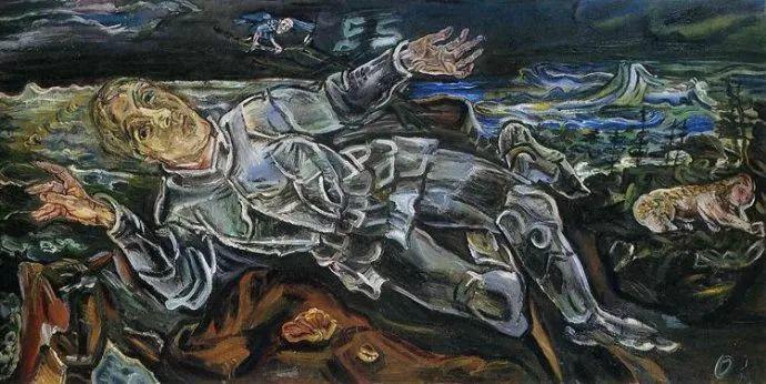 他以其强烈的表现主义肖像画和风景画而闻名插图23