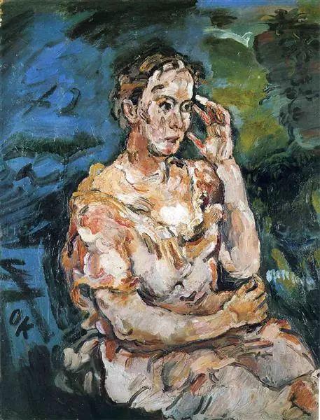 他以其强烈的表现主义肖像画和风景画而闻名插图25