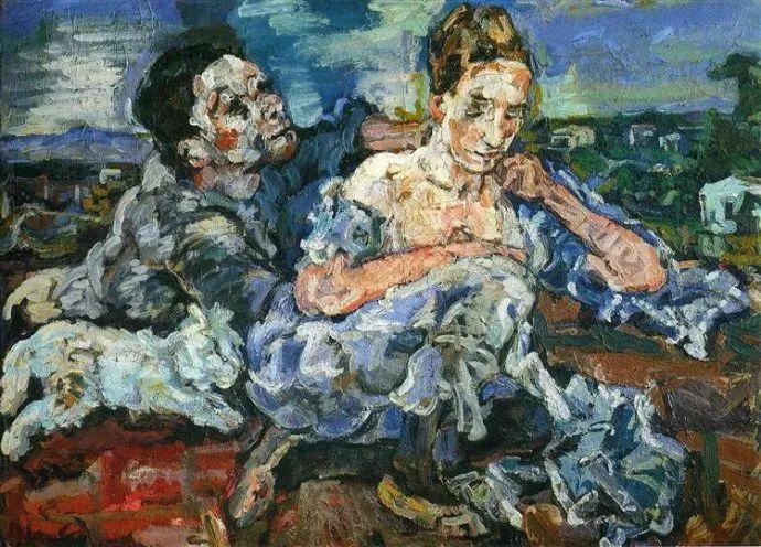 他以其强烈的表现主义肖像画和风景画而闻名插图29