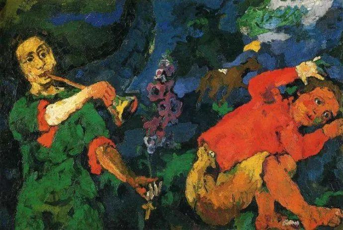 他以其强烈的表现主义肖像画和风景画而闻名插图31