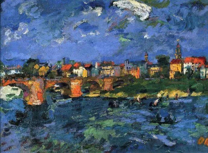 他以其强烈的表现主义肖像画和风景画而闻名插图33
