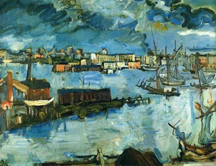 他以其强烈的表现主义肖像画和风景画而闻名插图37