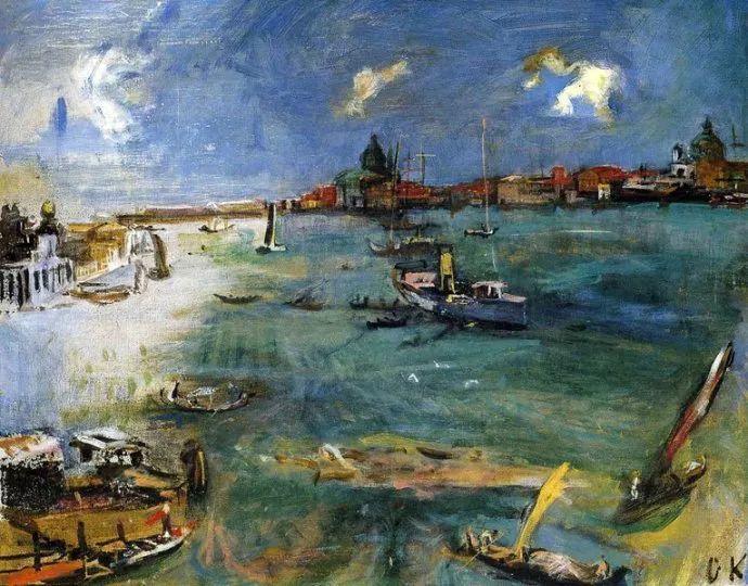 他以其强烈的表现主义肖像画和风景画而闻名插图43