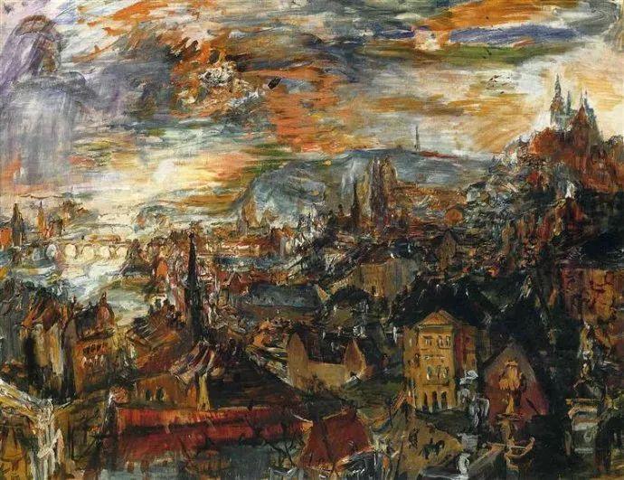 他以其强烈的表现主义肖像画和风景画而闻名插图51