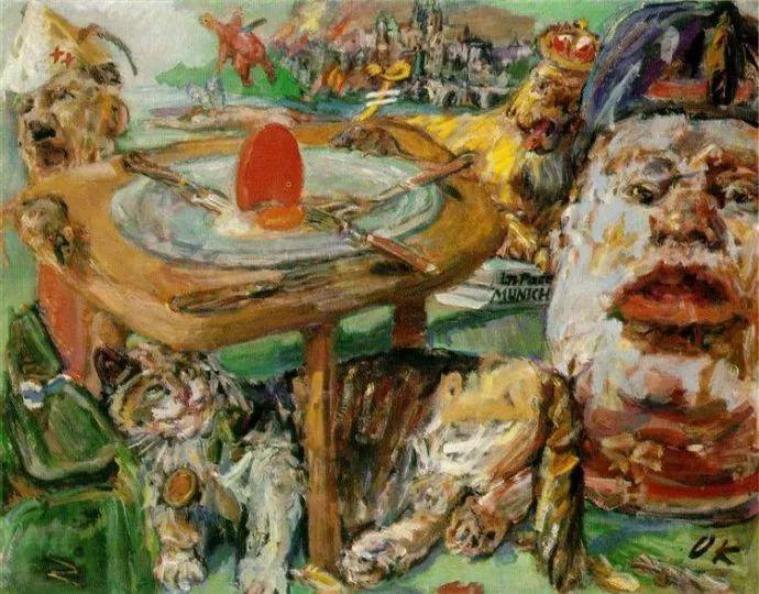 他以其强烈的表现主义肖像画和风景画而闻名插图57