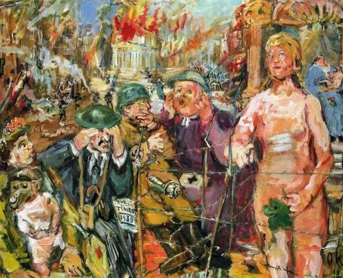 他以其强烈的表现主义肖像画和风景画而闻名插图61
