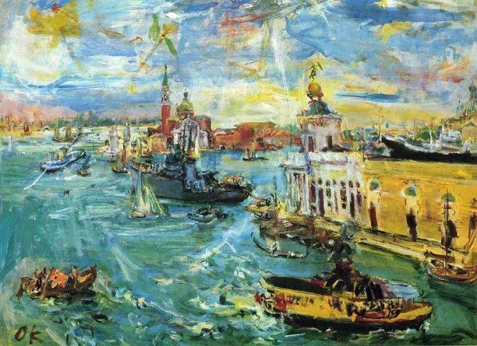 他以其强烈的表现主义肖像画和风景画而闻名插图63
