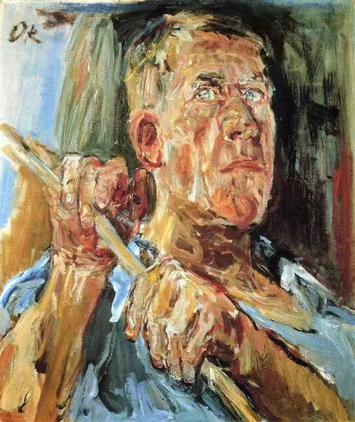 他以其强烈的表现主义肖像画和风景画而闻名插图67