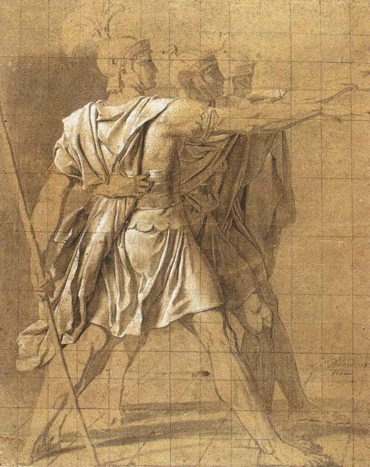 No.37 雅克·路易·大卫 | 新古典主义的开创者和奠基人插图63