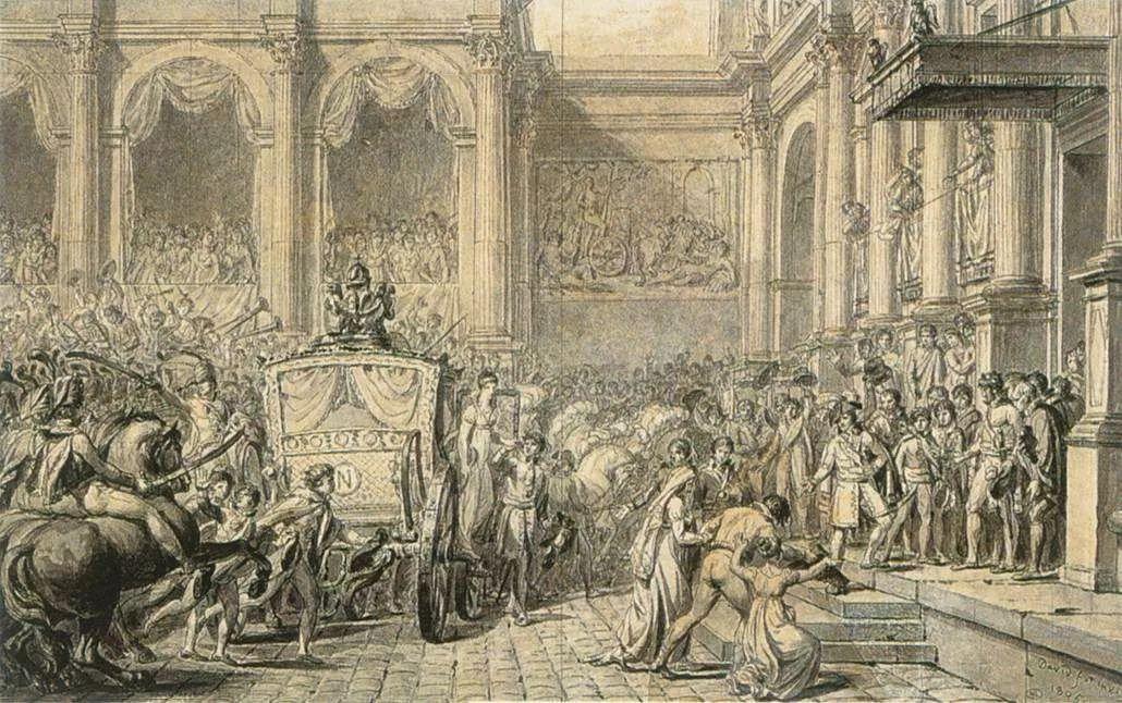 No.37 雅克·路易·大卫 | 新古典主义的开创者和奠基人插图151