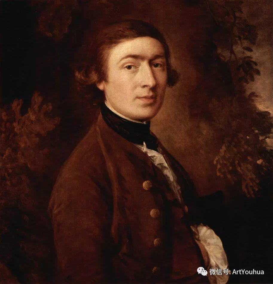 No.33 庚斯博罗 | 英国著名肖像画家和风景画家插图