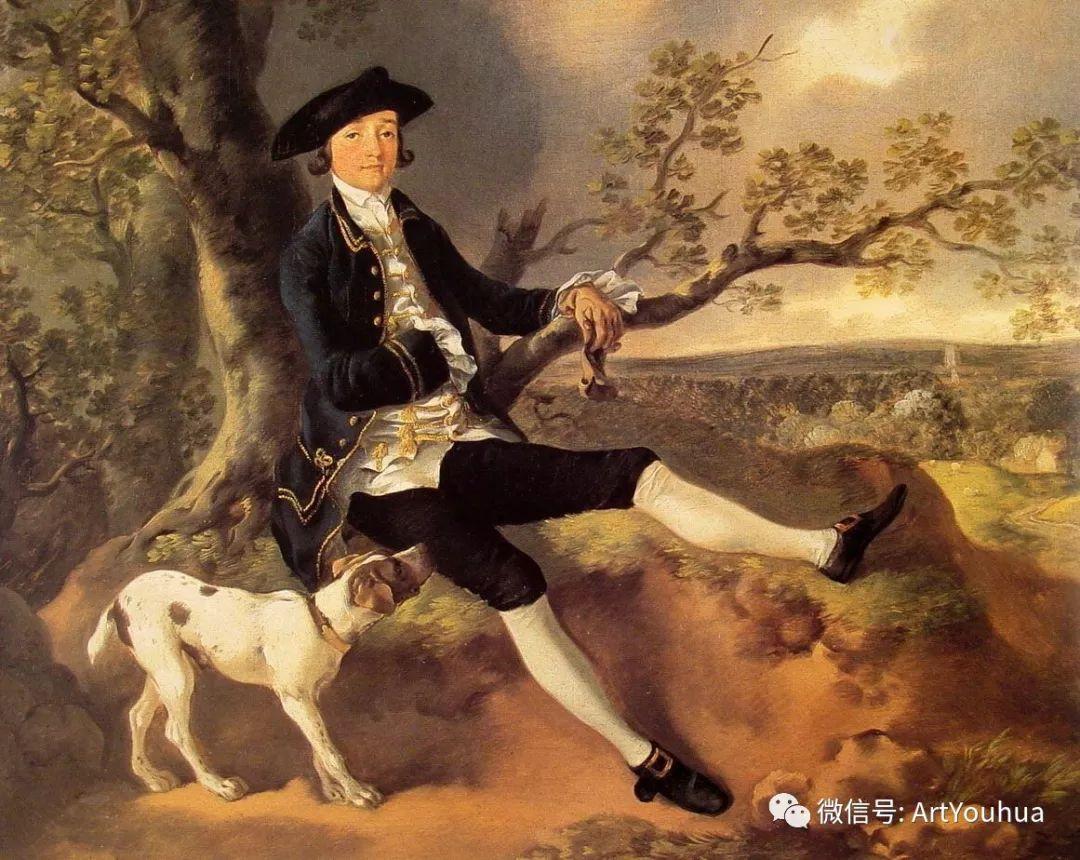 No.33 庚斯博罗 | 英国著名肖像画家和风景画家插图5