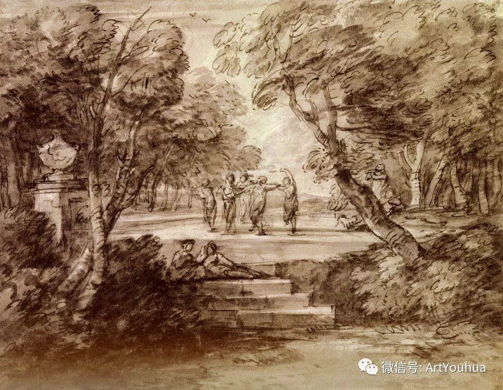 No.33 庚斯博罗 | 英国著名肖像画家和风景画家插图8