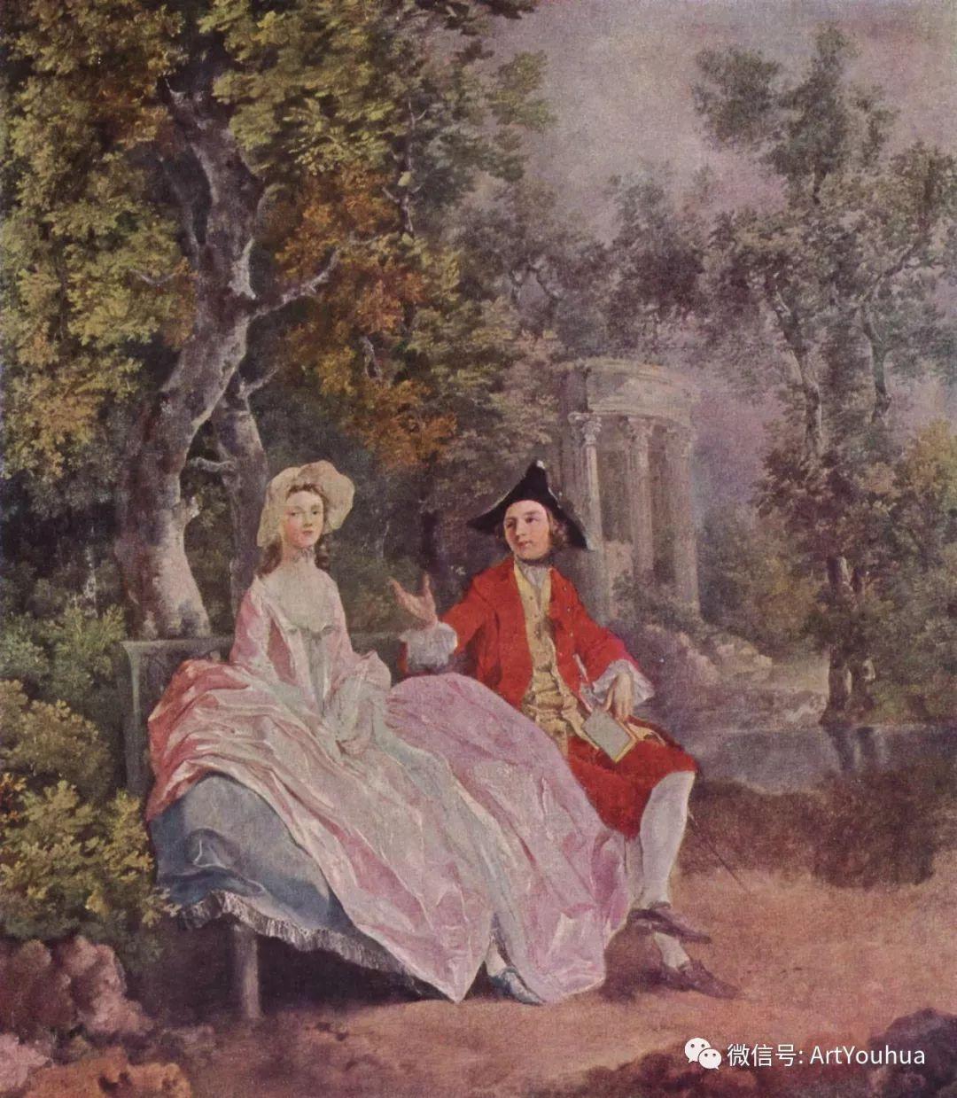No.33 庚斯博罗 | 英国著名肖像画家和风景画家插图10