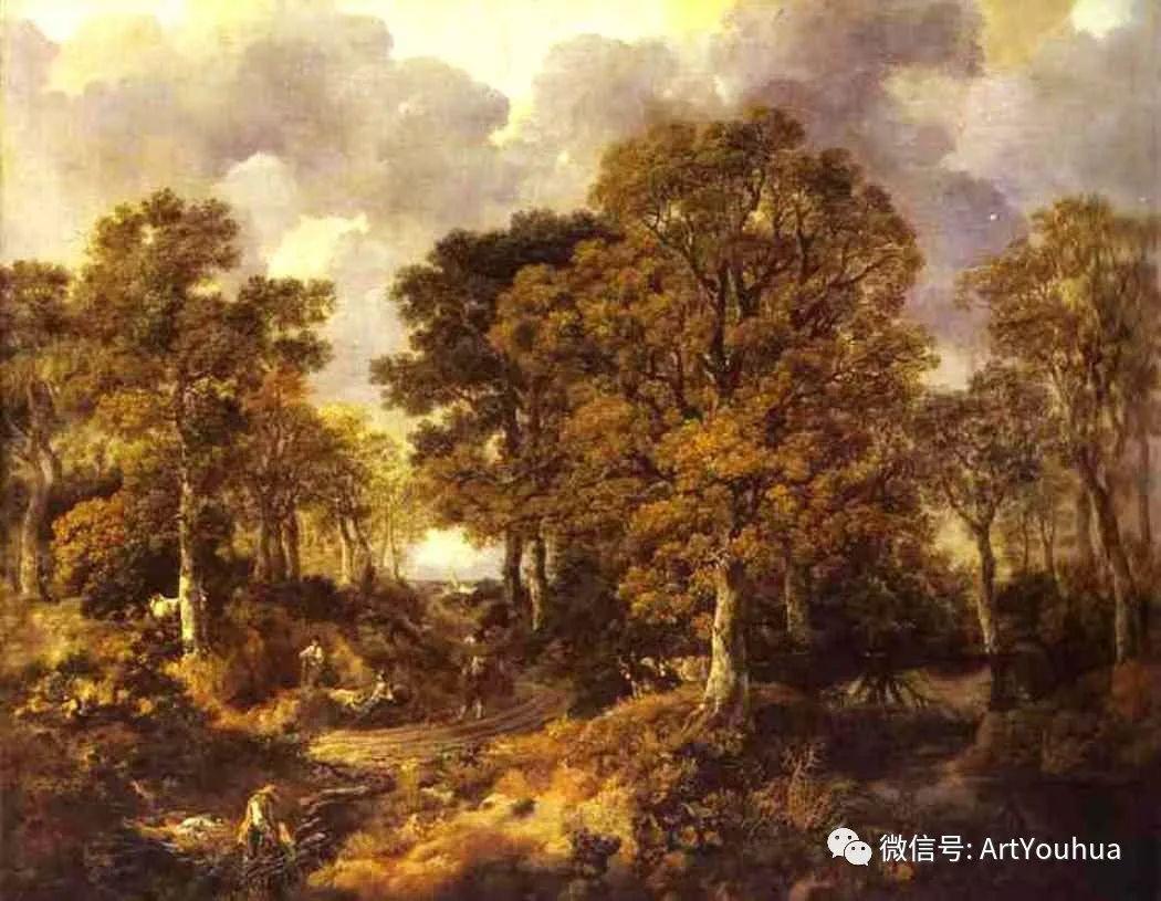 No.33 庚斯博罗 | 英国著名肖像画家和风景画家插图12