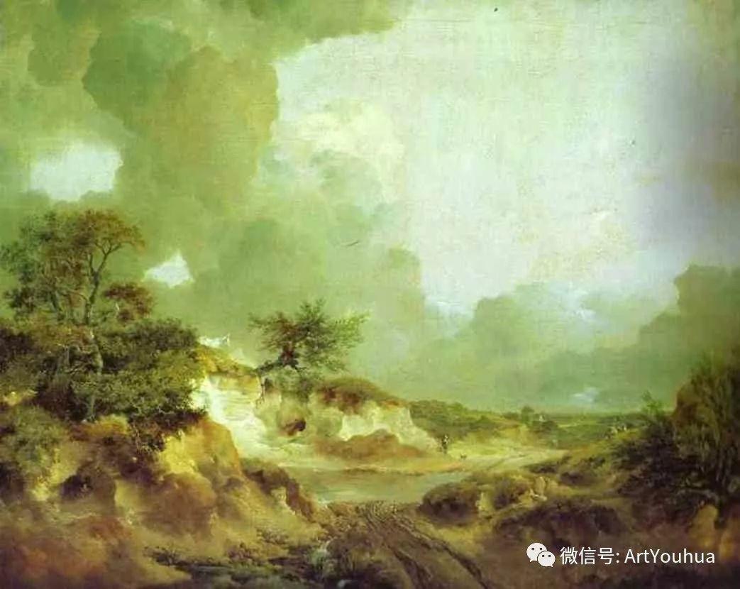 No.33 庚斯博罗 | 英国著名肖像画家和风景画家插图13