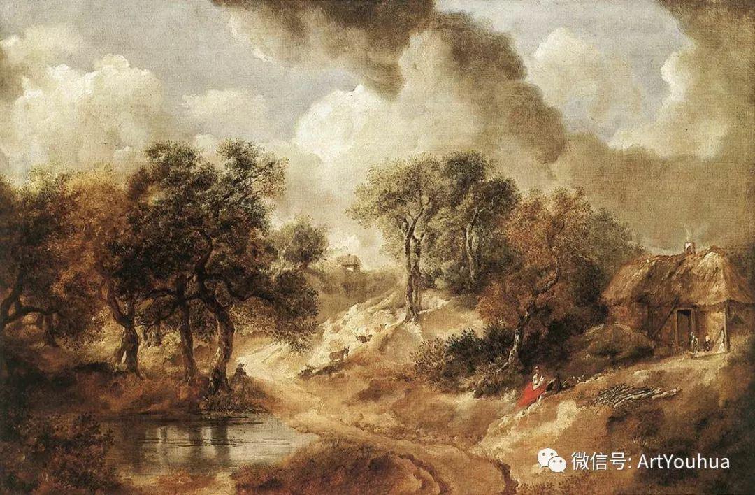 No.33 庚斯博罗 | 英国著名肖像画家和风景画家插图16
