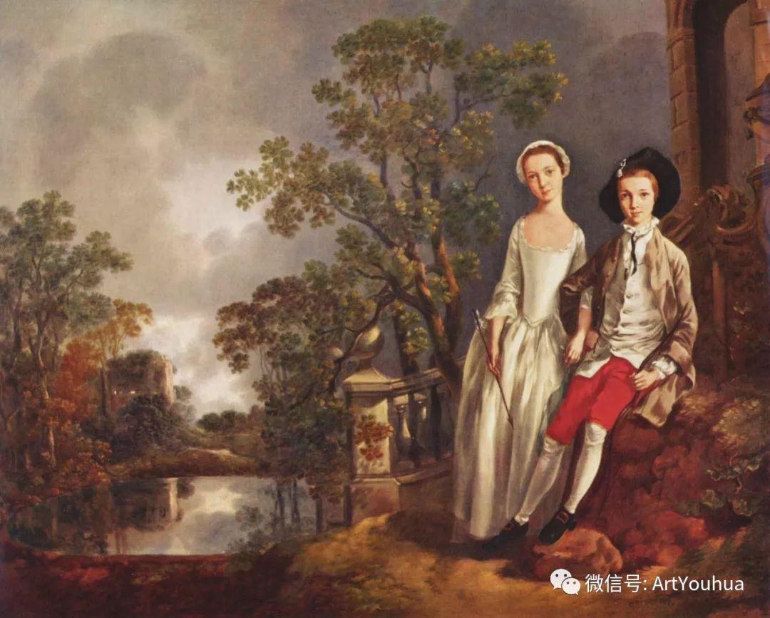 No.33 庚斯博罗 | 英国著名肖像画家和风景画家插图19