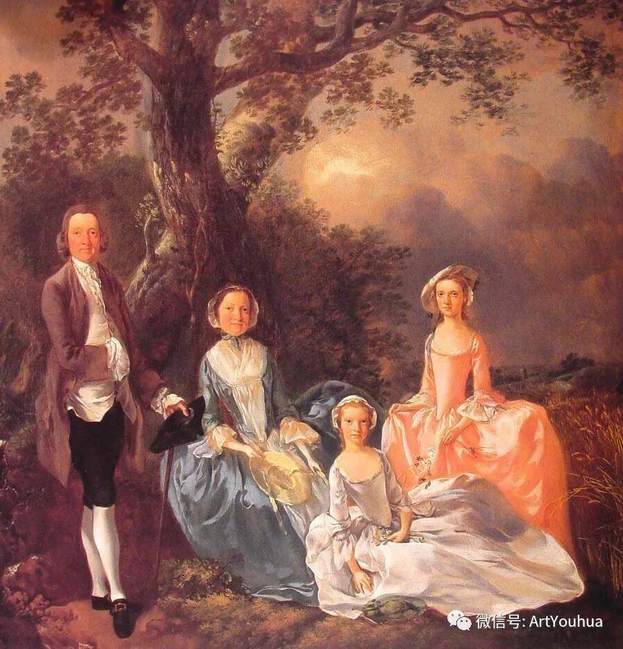 No.33 庚斯博罗 | 英国著名肖像画家和风景画家插图23