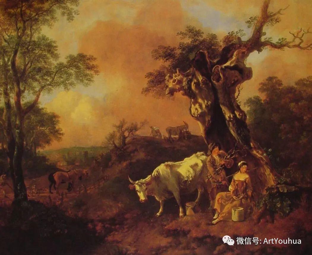 No.33 庚斯博罗 | 英国著名肖像画家和风景画家插图26