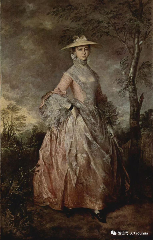 No.33 庚斯博罗 | 英国著名肖像画家和风景画家插图33