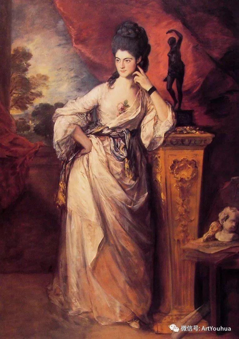 No.33 庚斯博罗 | 英国著名肖像画家和风景画家插图52