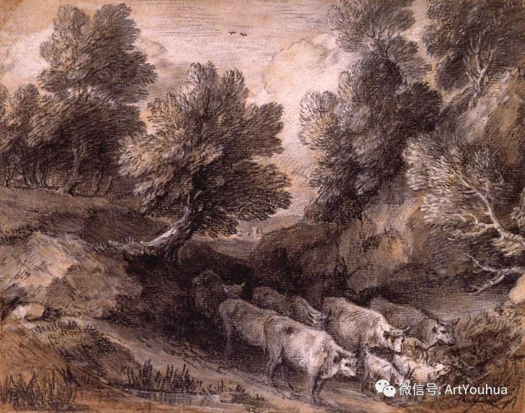 No.33 庚斯博罗 | 英国著名肖像画家和风景画家插图60