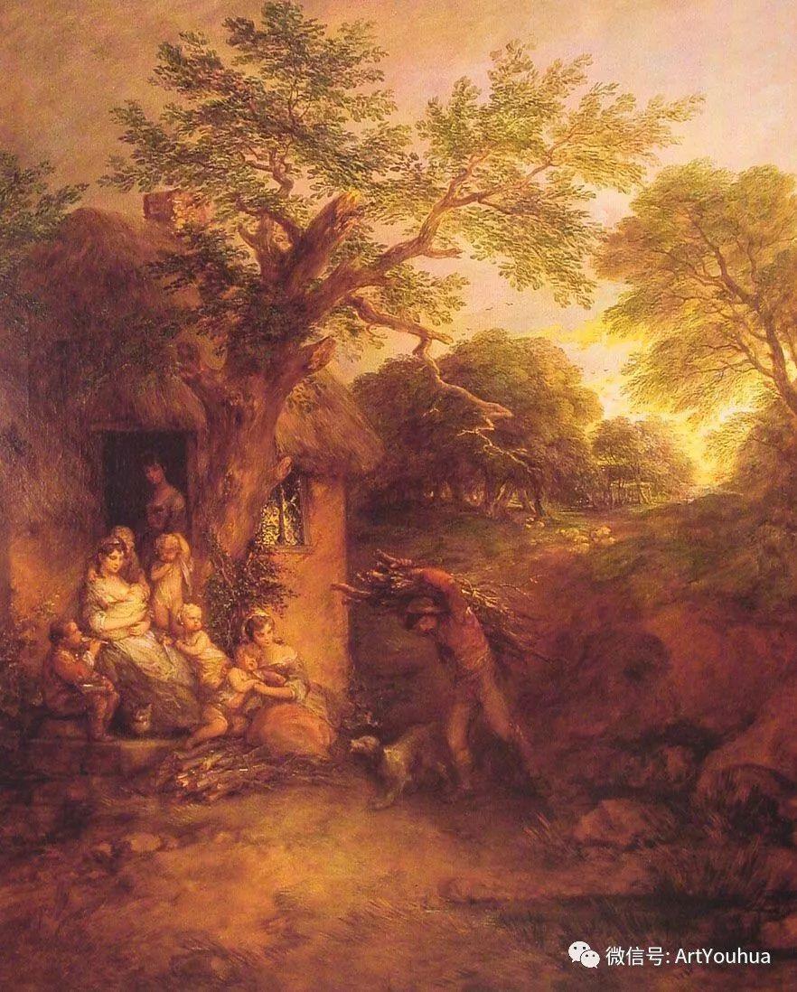 No.33 庚斯博罗 | 英国著名肖像画家和风景画家插图62