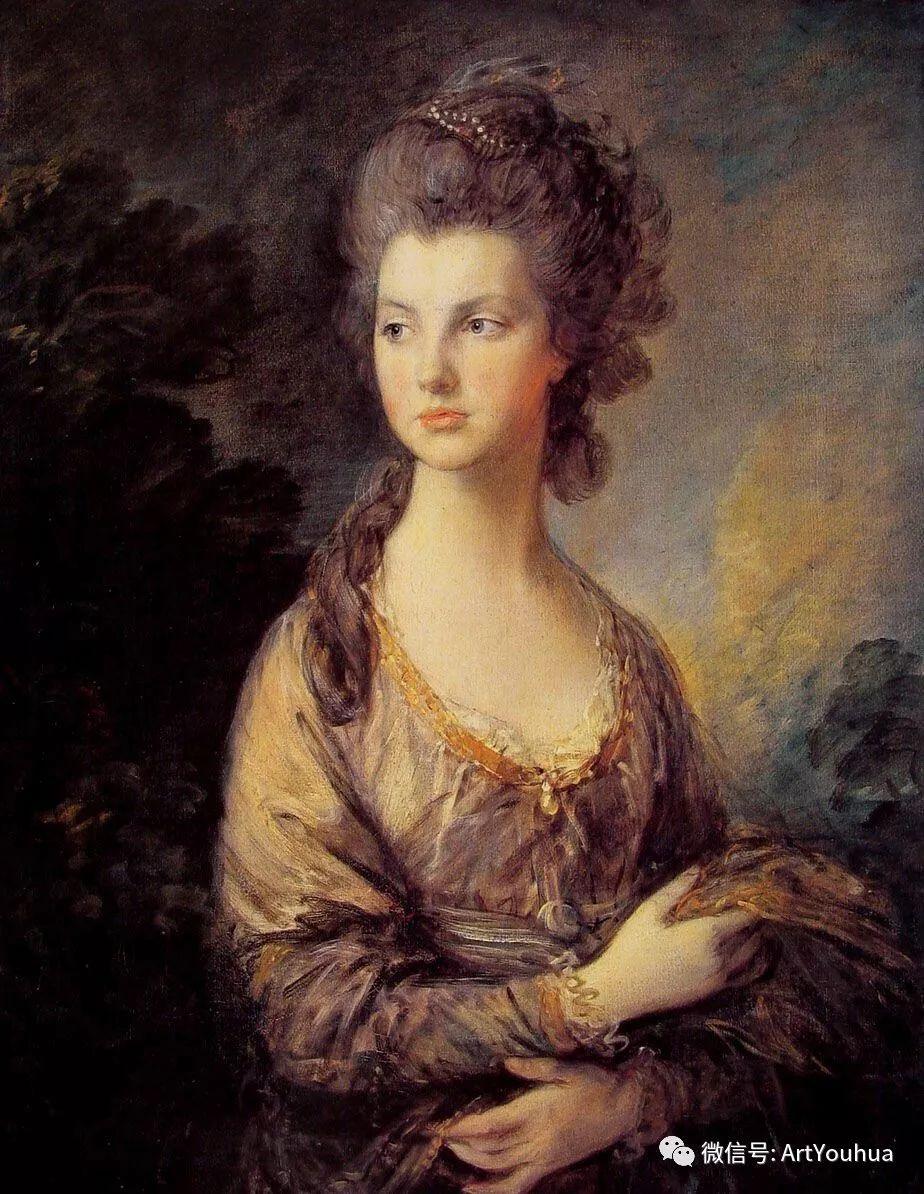 No.33 庚斯博罗 | 英国著名肖像画家和风景画家插图66