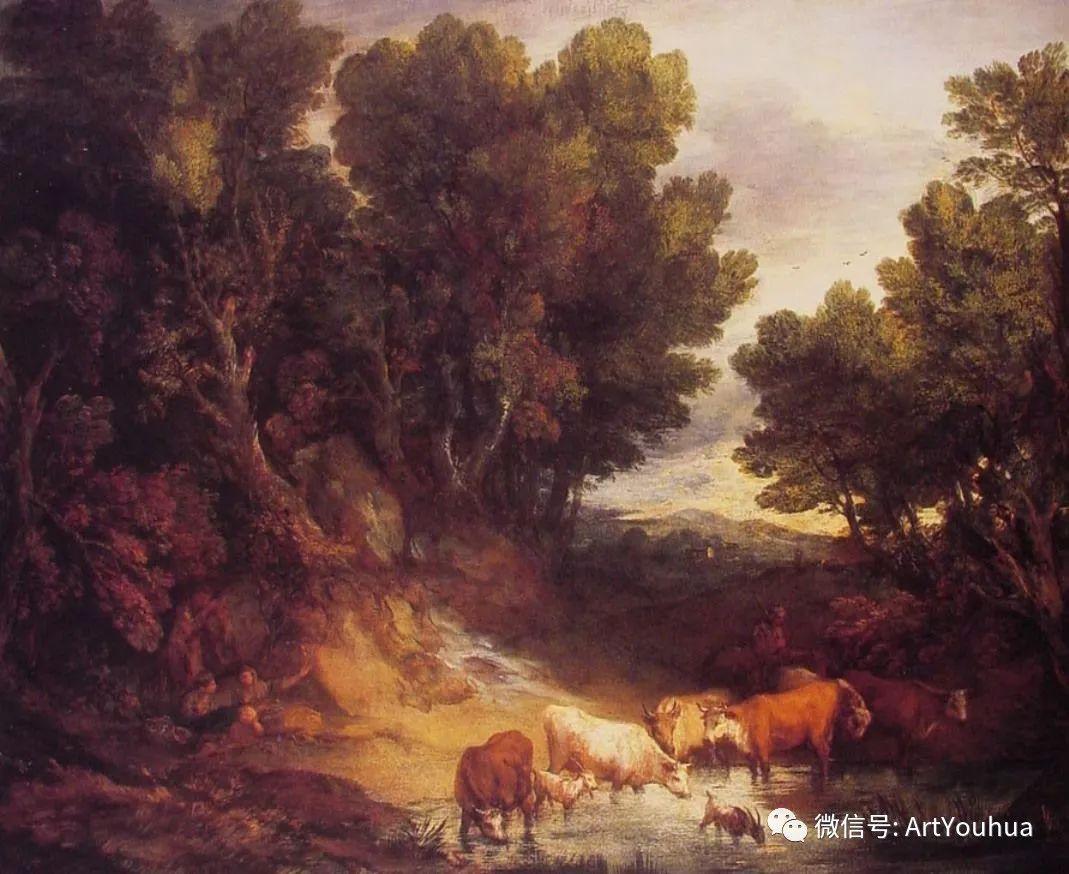 No.33 庚斯博罗 | 英国著名肖像画家和风景画家插图76