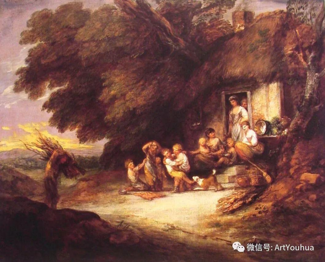 No.33 庚斯博罗 | 英国著名肖像画家和风景画家插图83