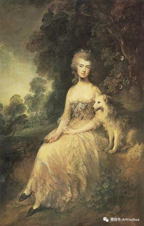 No.33 庚斯博罗 | 英国著名肖像画家和风景画家插图87