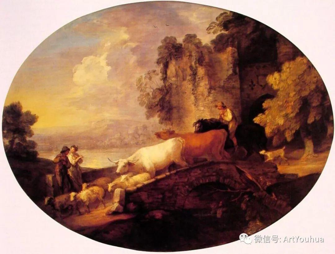 No.33 庚斯博罗 | 英国著名肖像画家和风景画家插图91