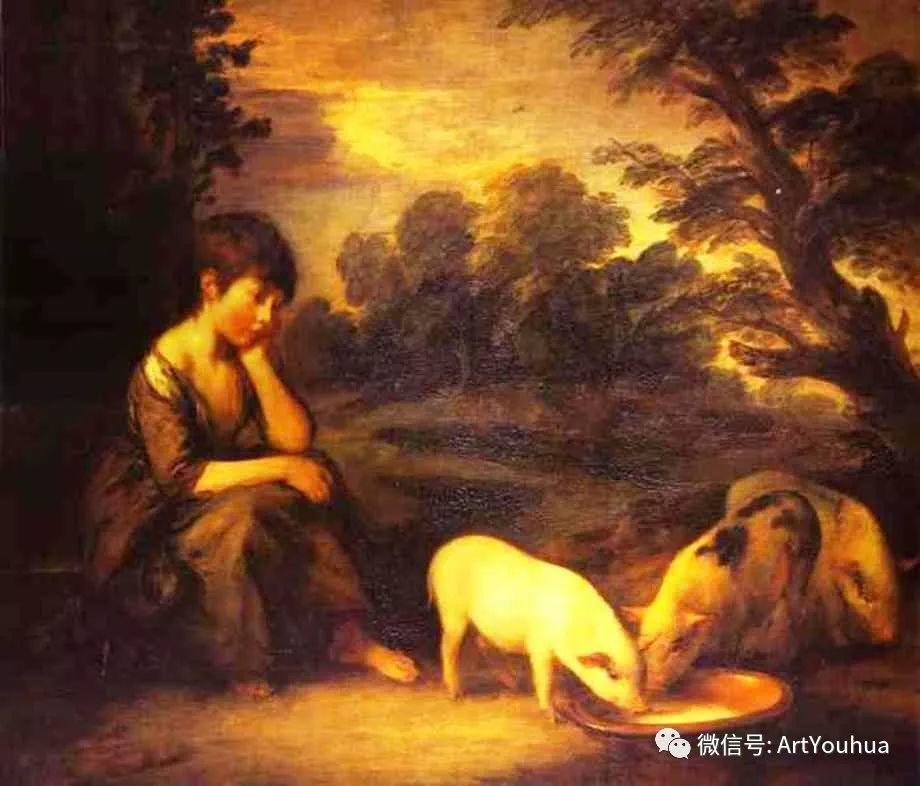 No.33 庚斯博罗 | 英国著名肖像画家和风景画家插图98